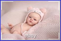 Reborn baby lifelike silicone vinyl newborn full body boy girl belinda doll cust