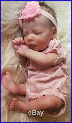 Reborn doll Darren Micro rooted/Realistic/magnet/COA