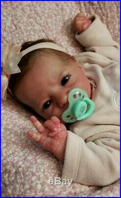 Reborn doll Presley Awake