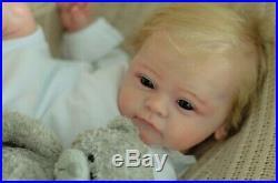 Reborn doll baby YAEL from GUDRUN LEGLER, artist Olga Konovnina, sweet babies