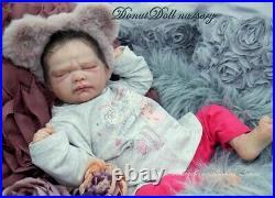 Reborn doll by frida by Lorraine yophi MAGDALENA DONUT DOLL SALE