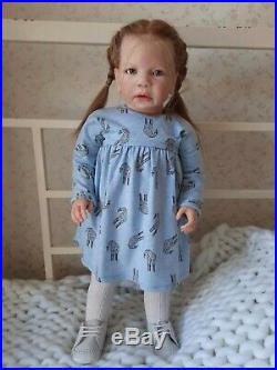Reborn doll toddler Henrietta By Regina Swialkowski