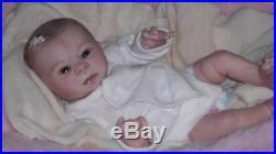 Reborn vinyl doll Denise Pratt's Preemie KADENCE baby girl Junebird Nursery