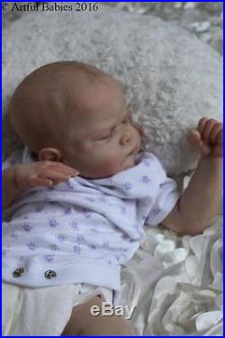 Stunning Reborn Genevieve Brace Artful Babies Realistic Baby Girl Art Doll