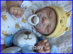 STUNNING Reborn Baby BOY Doll CHASE by BONNIE BROWN WENDY GRAHAM