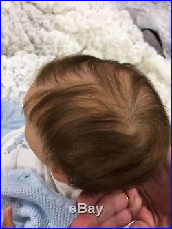 Sale Reborn Baby Doll Journey Lle Sculpt Rose Doll Show Baby 2018 Rooted