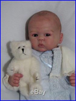 Sandy Faber Bailey Prototype Baby Boy Reborn Doll Silvia Ezquerra Creations