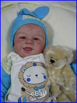 Sandy Faber Tommy Reborn Baby Boy Doll Chest Plate 21 Aleksandra Strzelczyk