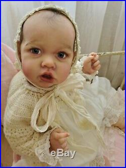 Saskia Reborn Baby Doll by Bonnie Brown LaDonna Briggs Sweet Potato Pie