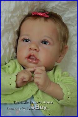 Saskia by Bonnie Brown Reborn Doll Baby Girl The Little Prince's House