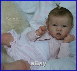 Saskia by Bonnie Brown sweet babyGeorgiaRealistic reborn doll by Irina Svitina