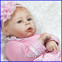 Silicone Realistic Newborn Baby Doll 20 inch Real Baby Handmade Dolls Full Body