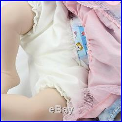 Silicone Reborn alive Baby Real Doll Vinyl 22'' Lifelike Newborn Full Handmad