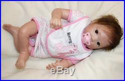 Silicone reborn baby Doll OtardDolls ORIGINAL soft vinyl 20 Full lifelike Doll