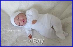 Sleeping Reborn Baby Doll gender neutral unisex #RebornBabyDollART