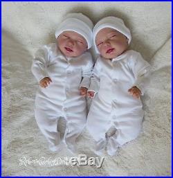 Sleeping Reborn Baby Doll gender neutral unisex #RebornBabyDollART UK