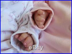 Sleeping Reborn Baby GIRL dolls. #RebornBabyDollART UK
