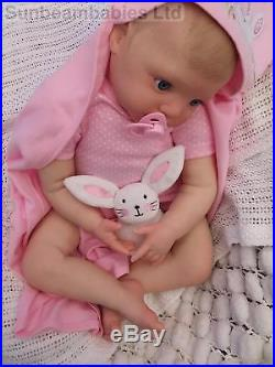 Soft Silicone Vinyl 27 Donna Rubert Reborn Toddler Baby Girl Doll Sunbeambabies