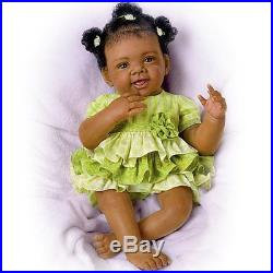 Soft Vinyl Truly Real Alexis Baby Girl 18 Doll