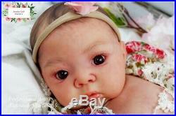 Studio-Doll Baby Reborn Asian GIRL AKINA by Adrie Stoete so real