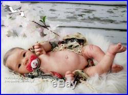 Studio-Doll Baby Reborn Asian GIRL Jiali by Adrie Stoete so real