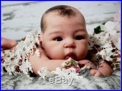Studio-Doll Baby Reborn Asian GIRL SUU KYI by Adrie Stoete so real
