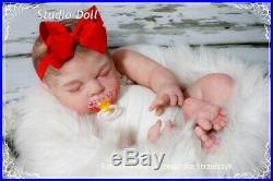 Studio-Doll Baby Reborn BIG girl EASTON by MICHELLE FAGAN 23 so real
