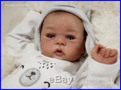 Studio-Doll Baby Reborn BOY MORGAN by SANDY FABER like real baby