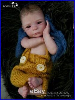 Studio-Doll Baby Reborn BOY NICLAS by GUDRUN LEGLER like real baby