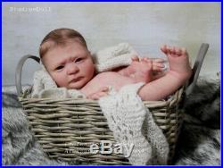 Studio-Doll Baby Reborn BOY OWEN by JESSICA SCHENK limit. Ed so real