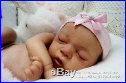 Studio-Doll Baby Reborn GIrl CHARLEE by SANDY FABER like real baby