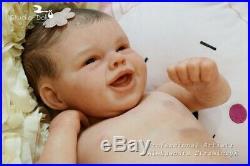 Studio-Doll Baby Reborn GIrl Felisa by Bonnie Leah Sieben like real baby