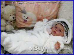 Studio-Doll Baby Reborn GIrl OLIVE by PING LAU full VINYL BODY L/Ed