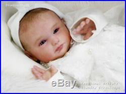 Studio-Doll Baby Reborn GIrl SPARROW by Mayra Garza like real baby L/Ed