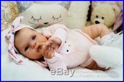 Studio-Doll Baby Reborn GIrl TAVIE by MELODY HESS like real baby L/Ed