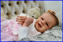 Studio-Doll Baby Reborn GIrl TOMMY by SANDY FABER like real baby
