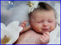Studio-Doll Baby Reborn Girl AGNES by JULIA HOMA limited edition so real