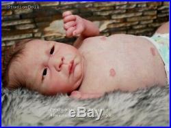 Studio-Doll Baby Reborn boy THOMAS by JORJA PIGOTT' so real L. E