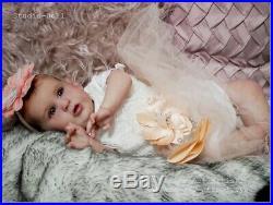 Studio-Doll Baby Reborn girl LI by PRISCILLA LOPES 23' so real L. E