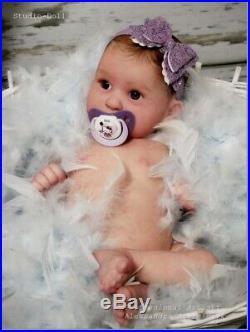Studio-Doll Baby Reborn girl MACKENZIE by JESSICA SCHENK limit. Ed so real