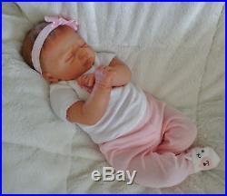 Stunning Newborn Reborn Baby Doll Ivy by Elisa Marx Just Born Rare