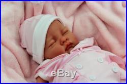 Stunning Reborn Baby Girl Doll In Spanish Sailor Romper S