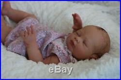 Stunning Reborn Lucy Kewy Baby Girl Doll 6lb 3oz Nubornz Nursery