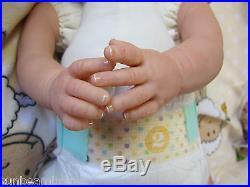 Sunbeambabies Child Friendly New Reborn Realistic Newborn Size Fake Baby Doll