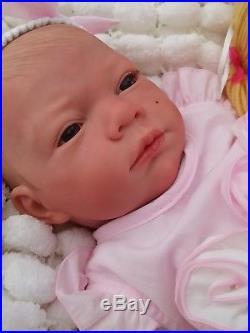 Sunbeambabies Child Safe Reborn Fake Baby Girl/ Rag Doll & Free Mystery Gift Bag