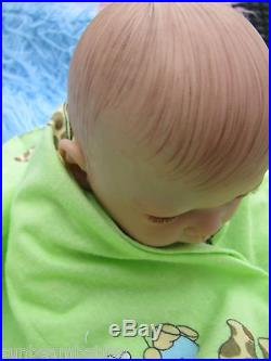 Sunbeambabies Childs Lifelike Heavy Baby Girl Doll First Reborn Choose Your Eyes