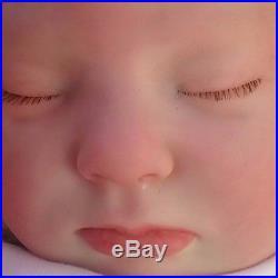 Sunbeambabies Donna Rubert Gemma Reborn Baby Doll/gift Bag /soft Silicone Vinyl