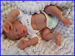 Sunbeambabies Lifelike Child`s Reborn Baby, Nice Soft Girl Doll With Belly Plate