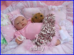 Sunbeambabies Safe Vinyl 20 New Reborn Realistic Newborn Doll Fake Baby Girl