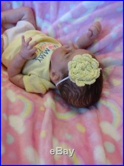 Sunny by Joanna Kazmierczak reborn infant/baby doll EUC